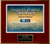 Superb Rated Attorney Award