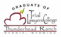 Graduate of Trial Lawyers College Thunder Head Ranch