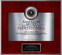 2016 Top One Percent Award